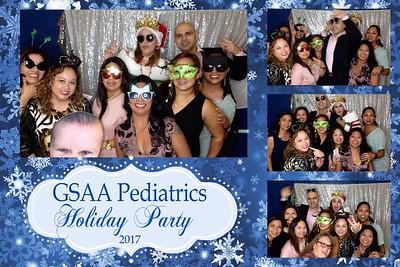 GSAA Pediatrics Holiday Party