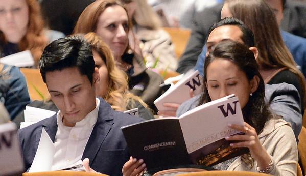 UW School of Law Commencement 2018