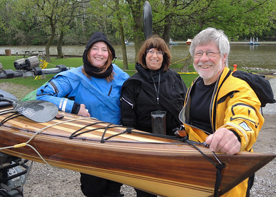 "May 11, 2018. Traci Lynn Martin.World Class Kayaker, is back in Vermilion; kayaking  AND sharing her historic 2017 ""First person to Round 3 Great Lakes in one year."""