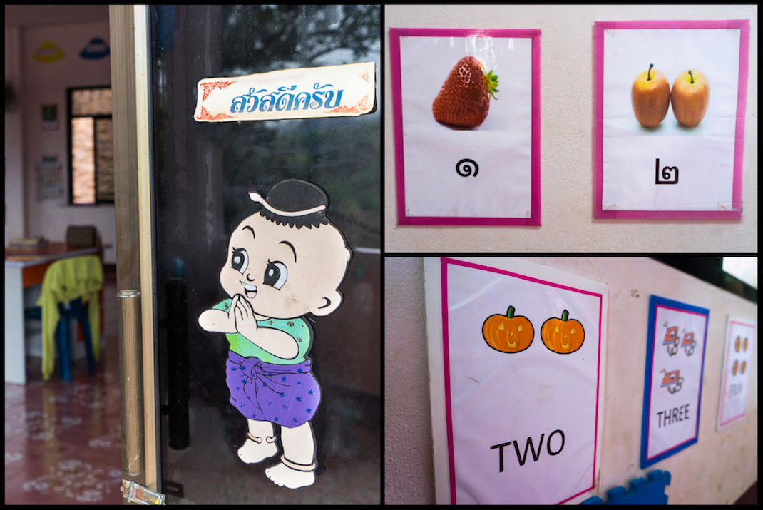 Karen Village Classroom Signs