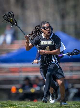 Girls Lacrosse: Oxon Hill vs. DuVal