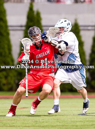 6/14/2014 - Boys Varsity Lacrosse - MIAA D2 State Final - Hingham vs Medfield