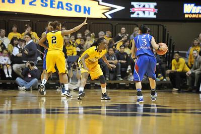 286713 Womens Basketball vs. Kansas
