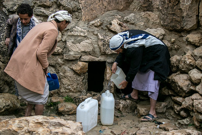 Impact of fuel crisis on water, Amran governorate