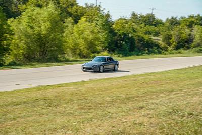 Gray Honda S2000