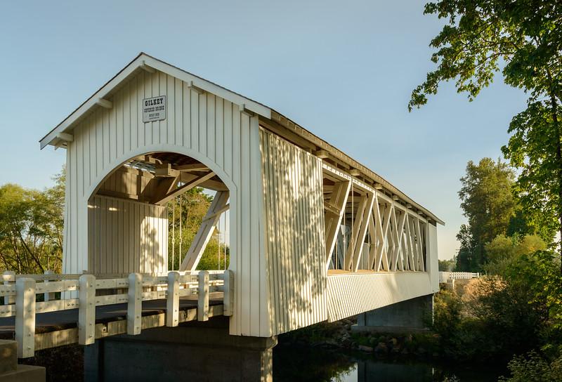 Gilkey Covered Bridge, Oregon