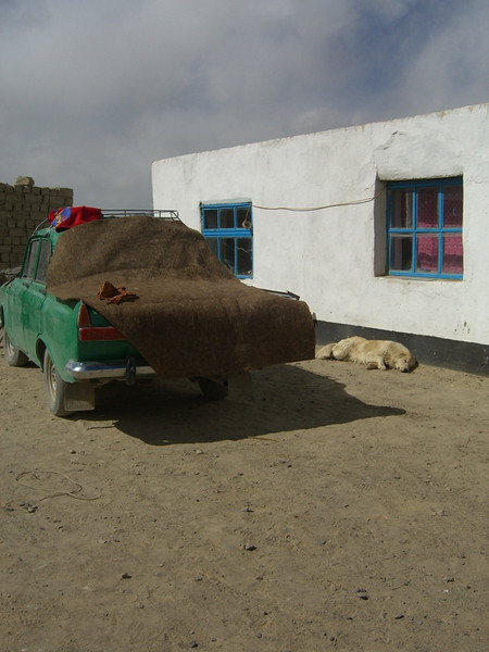 Covered Car - Murghab, Tajikistan