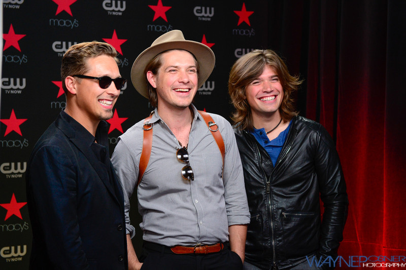 Hanson at the iHearRadio Music Festival