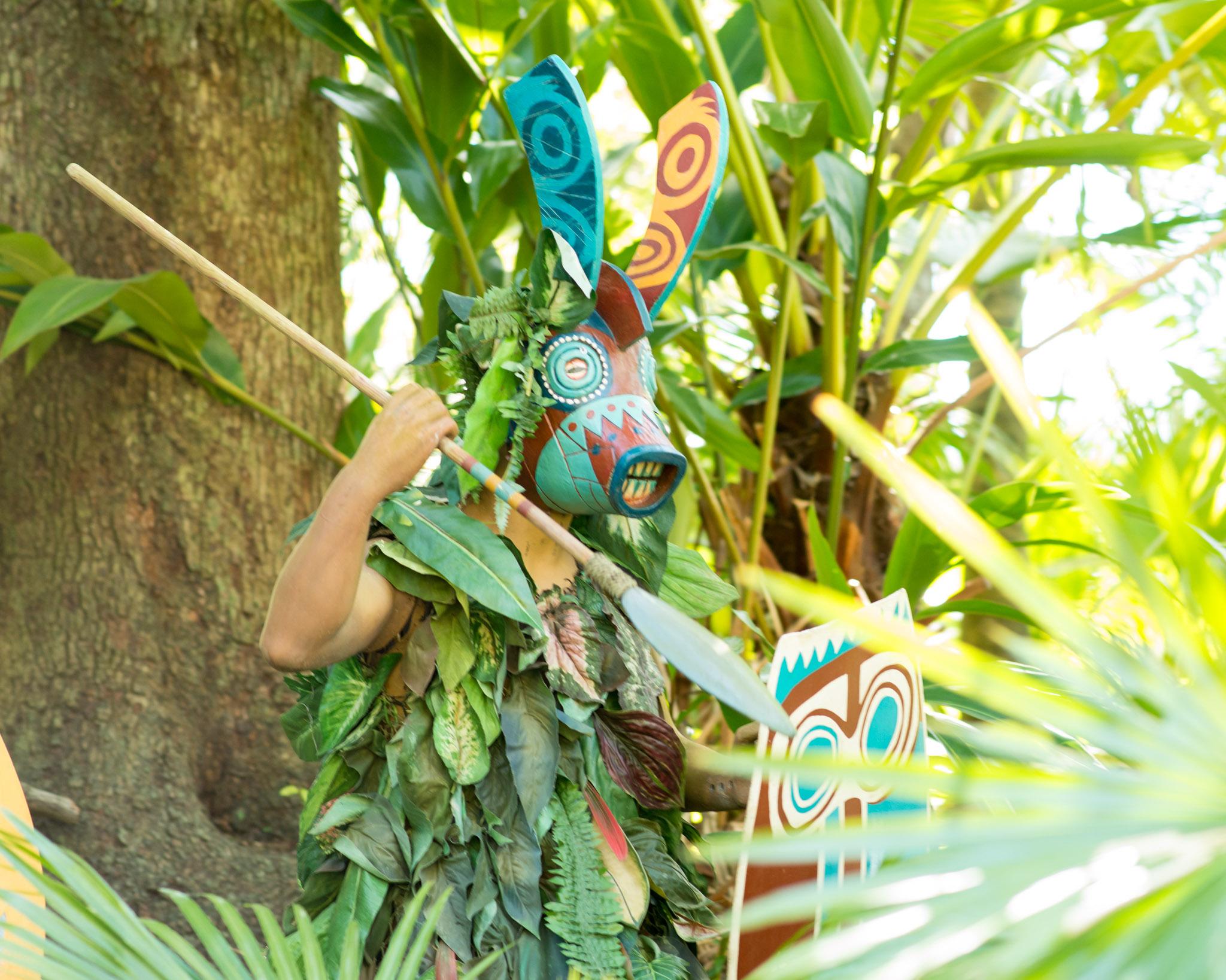 Jungle Cruise Spear Guy - Walt Disney World Magic Kingdom