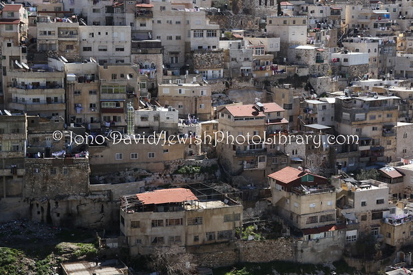 ISRAEL, Jerusalem. Kidron Valley (3.2012)