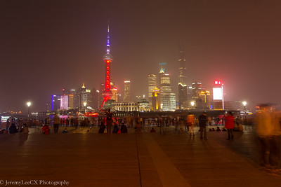 Shanghai - An Evening stroll at Nanjing Road & The Bund