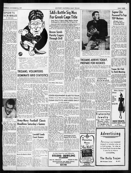 Daily Trojan, Vol. 31, No. 50, November 28, 1939