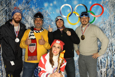 Yelp Winter Olympics Holiday Party 2017