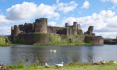 Caerphilly Castle 25/5