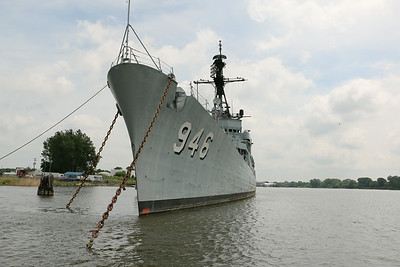 Ex-USS Edson Inspection
