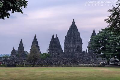 Ancient Prambanan Hindu Temple