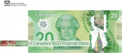 Canada $20 bill