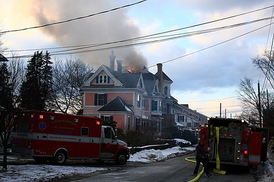 Stoughton, MA Capen St 2nd Alarm 1/12/2010