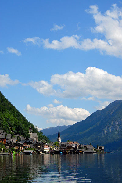 Hallstatt Village and Lake, Upper Austria