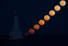 Solar System Runner-up - Andreas Gada - Cobourg Lighthouse Moonrise