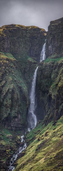 Long Iceland Waterfall  Photography by Wayne Heim