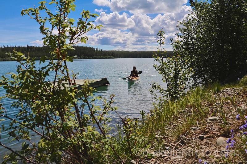 Take Out on Schwatka Lake