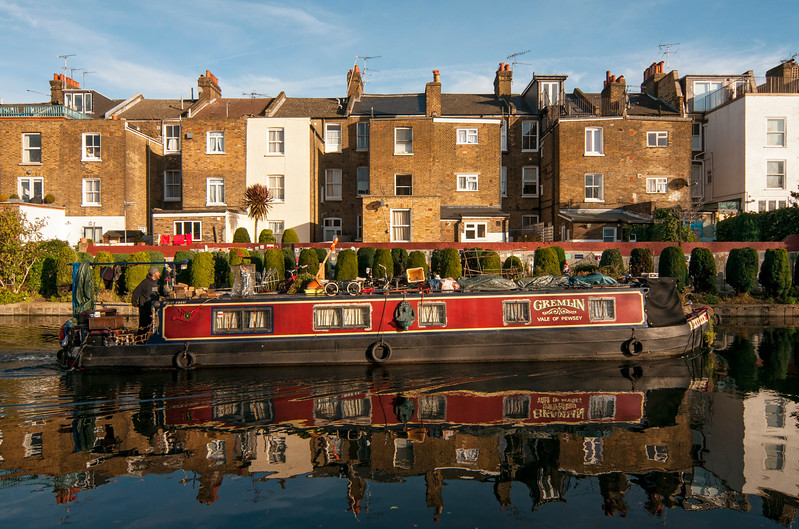 Grand Union Canal, London