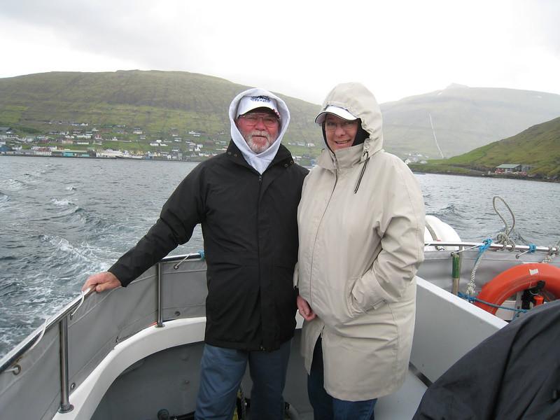 Boat trip tp the Vestmanna Sea Cliffs, Faroe Islands, Denmark