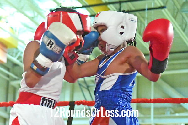 Bout 4 Ny'zaiah Taylor, BG, Akron -vs- Giovani Wilson, RG, Buffalo, 80 #