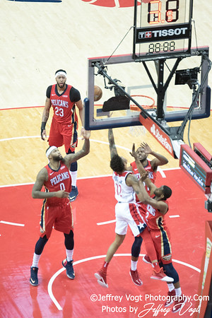 12-19-2017 Washington Wizard vs  New Orleans Pelicans at Capital One Arena, Photos by Jeffrey Vogt Photography