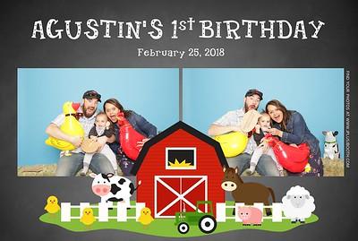 Agustin's 1st Birthday