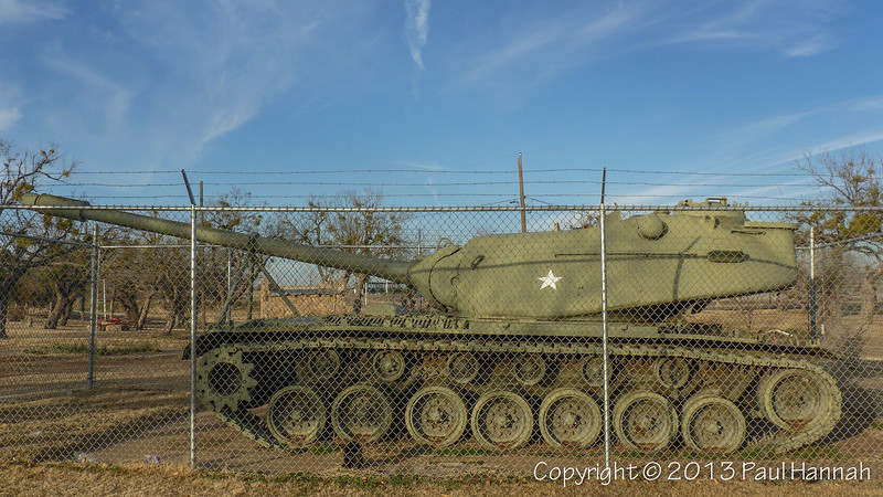 Newman Park - Sweetwater, TX - M103,T-33 & UH-1