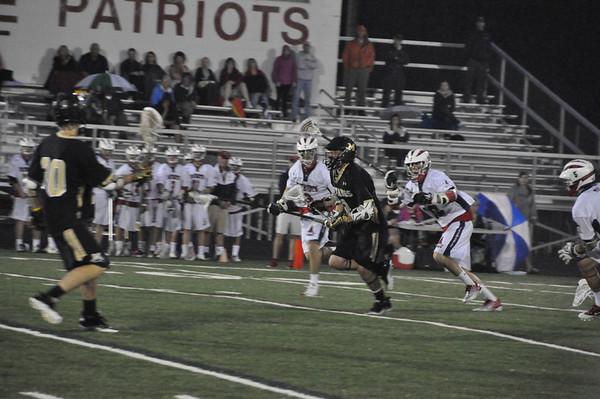 Monticello vs. Albemarle boys lacrosse 2012