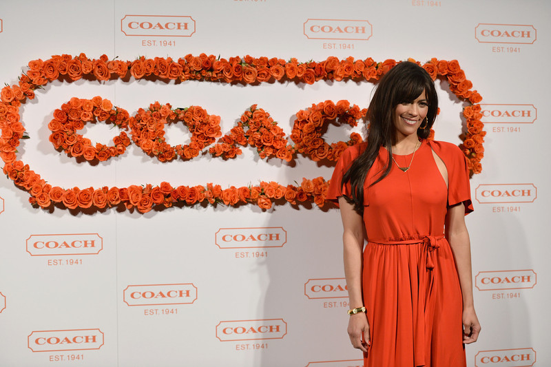 . Actress Paula Patton attends the 3rd Annual Coach Evening to benefit Children\'s Defense Fund at Bad Robot on April 10, 2013 in Santa Monica, California.  (Photo by Alberto E. Rodriguez/Getty Images)