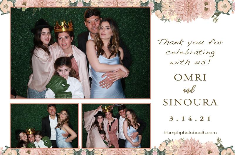 3/14/21 - Omri & Sinoura Wedding