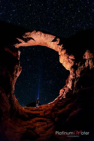 Arches National Park - Starry, Yoga, Sun rise, Sun Set