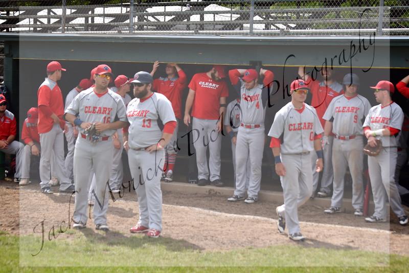 2017 USCAA Baseball Cleary v Apprentice