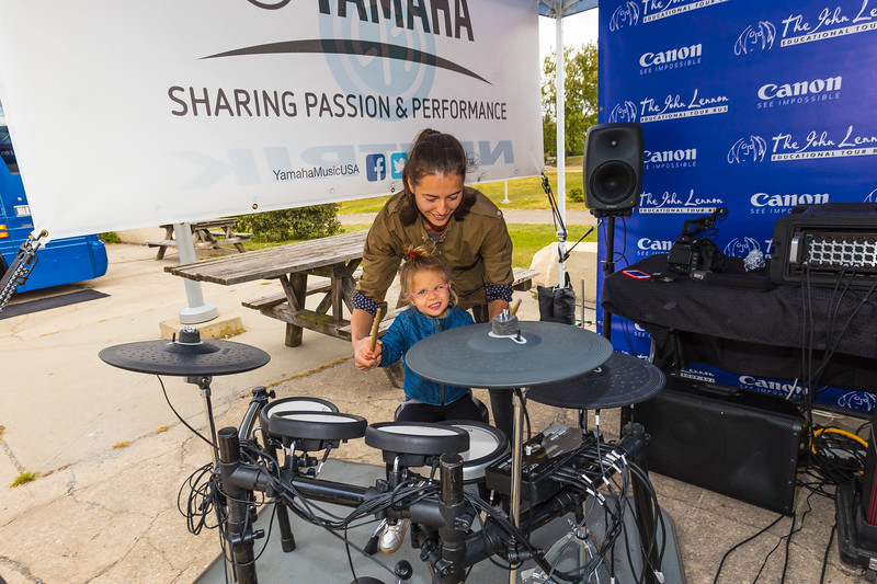 2017_09_30, Brooklyn, NY, Smorgasburg, Yamaha, Canon, tents and tours,