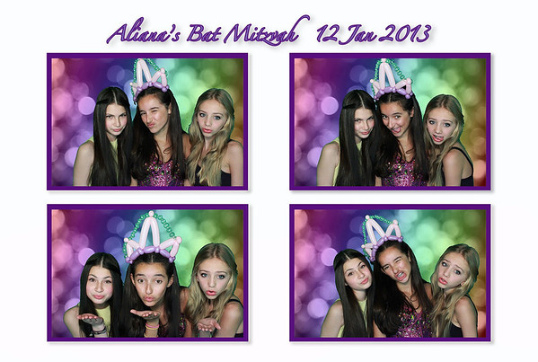 Aliana's Bat Mitzvah