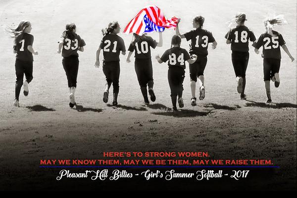 PH Girl's Summer Softball
