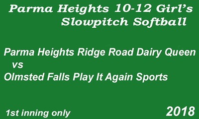 180606 Parma Heights Girl's 10-12  PH Reservoir Field