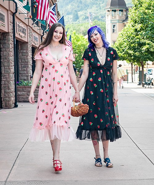 Sarie and Kait - Strawberries and Cream