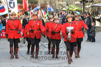 Whistler Cup 2012 - Parade and Awards