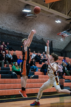 WBL Boys JV Basketball -V- Irondale 2020
