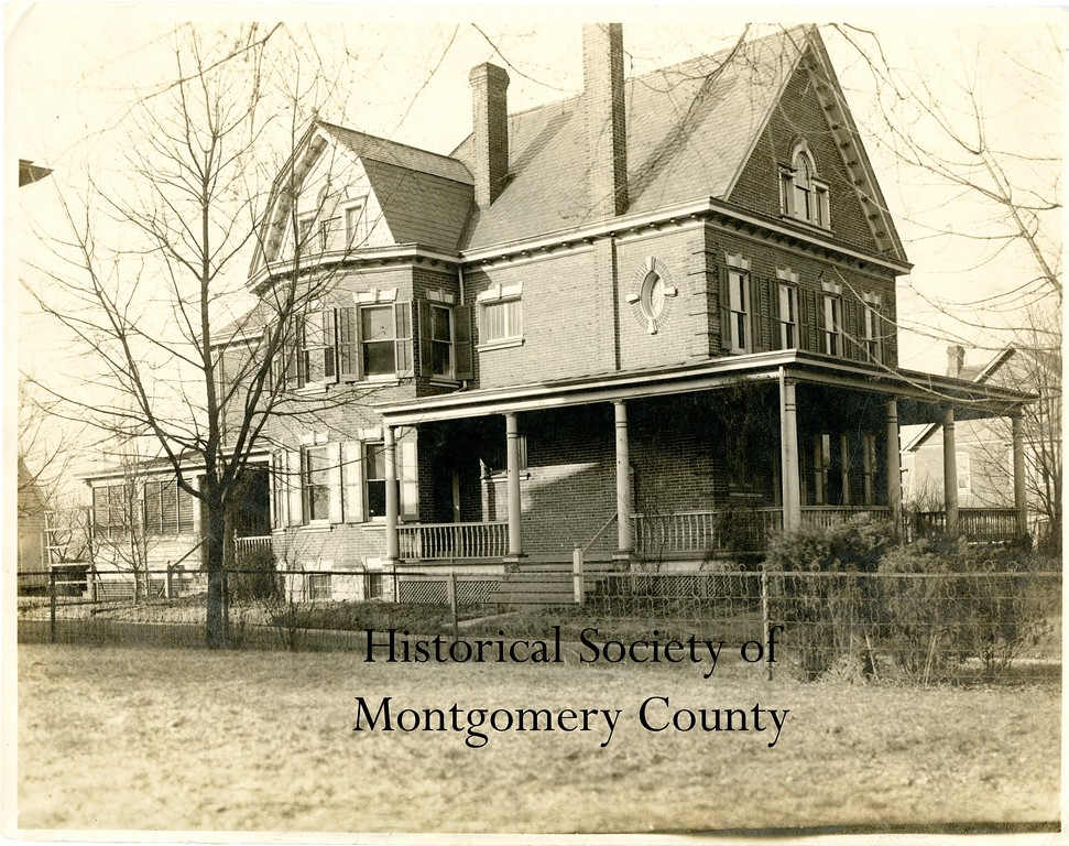 . This undated photo from the Historical Society of Montgomery County shows Jarrett House, which was the home of Armand Jarrett on West Main Street in Jeffersonville.  It was later a Nationwide Insurance Office.
