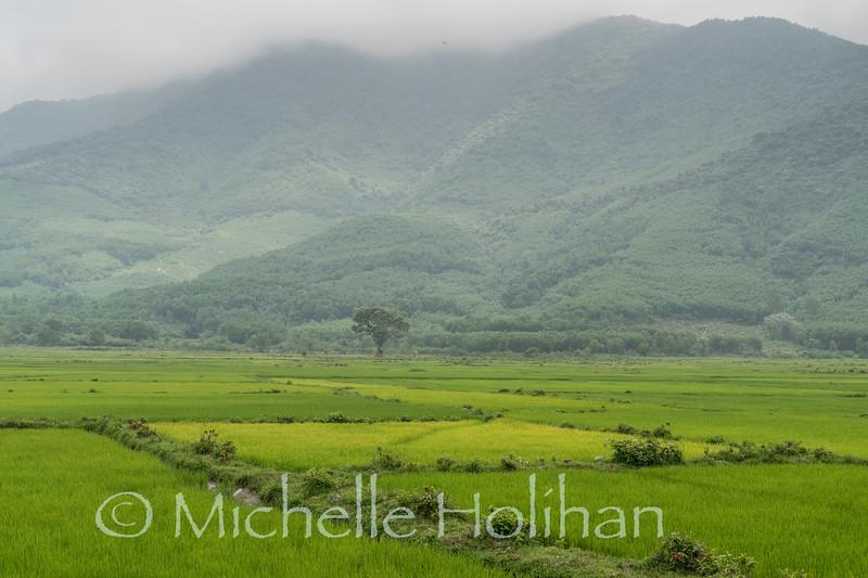 Drive from Da Nang to Hue, Vietnam