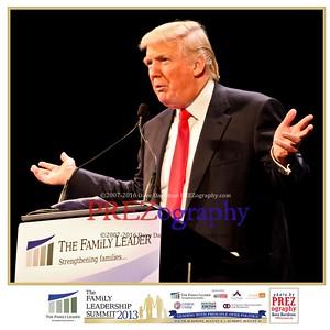 Donald Trump at TFL 2013
