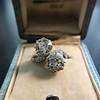 5.15ctw Old European Cut Diamond Toi et Moi Ring 8