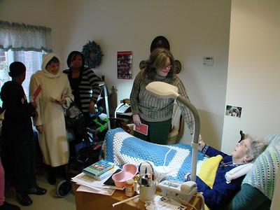 Christmas Caroling Videos and Photos, 2009 Dec. 13