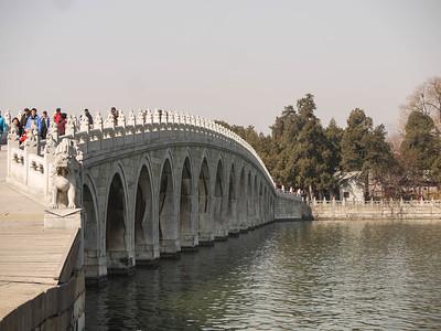 The seventeen arch bridge. Beautiful